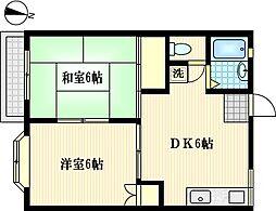 メゾン孝[2階]の間取り