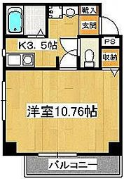 サラスバティ辻井[3階]の間取り