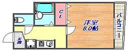 [タウンハウス] 兵庫県神戸市東灘区魚崎北町2丁目 の賃貸【兵庫県 / 神戸市東灘区】の間取り