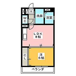PLACE ART プレイスアート[3階]の間取り
