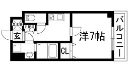 GROOVE川西多田[4階]の間取り