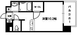 ララプレイス新大阪シエスタ[5階]の間取り