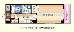 昭和町原野ビル--[901号室]の間取り