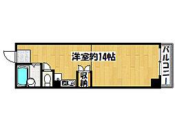 兵庫県神戸市垂水区高丸3丁目の賃貸マンションの間取り