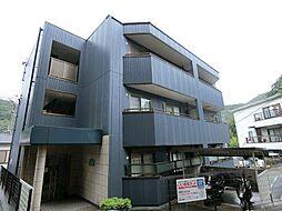 兵庫県神戸市北区有野町唐櫃の賃貸マンションの外観