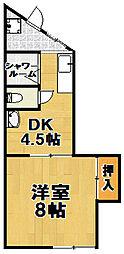[テラスハウス] 大阪府大阪市此花区高見2丁目 の賃貸【/】の間取り