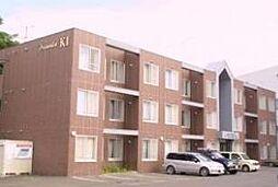 北海道札幌市清田区清田一条1丁目の賃貸マンションの外観