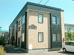 北海道札幌市中央区北十四条西15丁目の賃貸アパートの外観