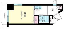 東京都大田区南馬込2丁目の賃貸マンションの間取り