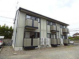 長野県長野市大字安茂里の賃貸アパートの外観