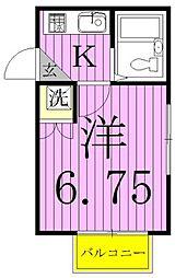 グランコート21[203号室]の間取り