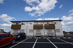 福岡県遠賀郡水巻町下二東3丁目の賃貸アパートの外観
