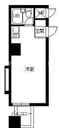 スカイコート西横浜第6[4階]の間取り