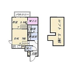 FAMILY STAGE道徳III[1階]の間取り