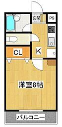RCA-I[4階]の間取り