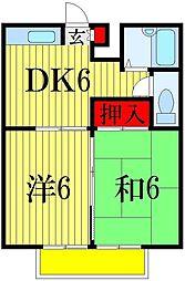 CASA GRANDE M3[1階]の間取り