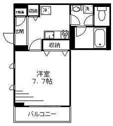 神奈川県横浜市磯子区森3丁目の賃貸マンションの間取り