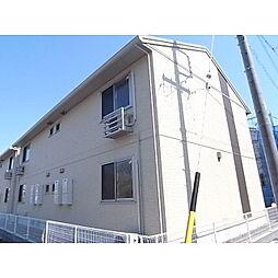 静岡県静岡市清水区駒越西の賃貸アパートの外観