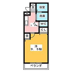 コラルリーフ21[1階]の間取り