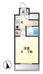 大須レジデンス[12階]の間取り