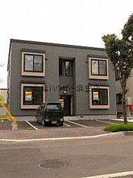 北海道札幌市北区あいの里三条2丁目の賃貸アパートの外観