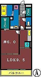 グレース8[310号室]の間取り