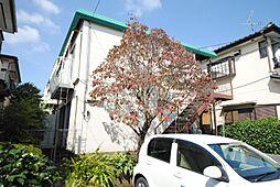 埼玉県越谷市東越谷5丁目の賃貸アパートの外観