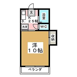 コーポ庄景[2階]の間取り