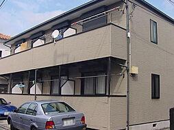 東京都大田区東六郷2丁目の賃貸アパートの外観