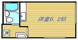 ハイネス平[1階]の間取り