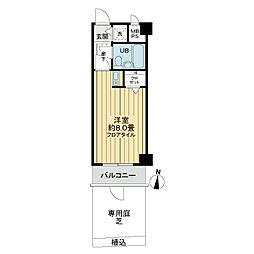 ライオンズマンション大泉学園第5[1階]の間取り