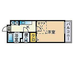 【敷金礼金0円!】ウェルスロコ九大前
