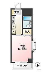 サカイハイツIII[3階]の間取り