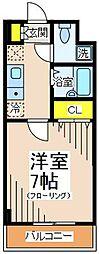 アイビーコート[2階]の間取り