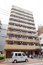 神奈川県川崎市川崎区新川通の賃貸マンションの外観