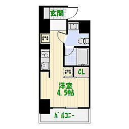 東京都葛飾区小菅2丁目の賃貸マンションの間取り