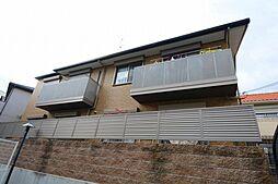 兵庫県西宮市大谷町の賃貸アパートの外観