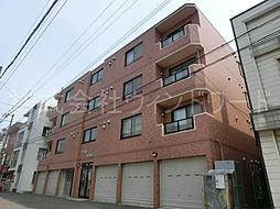 北海道札幌市中央区南五条西12丁目の賃貸マンションの外観
