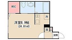 siro上本郷[2階]の間取り