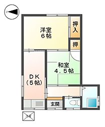 [一戸建] 愛知県名古屋市北区楠味鋺2丁目 の賃貸【/】の間取り