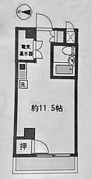 日興パレス横浜[4階]の間取り