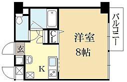 S・C OKUBOII[3階]の間取り