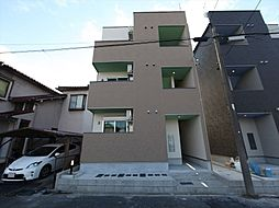 愛知県名古屋市北区稚児宮通1の賃貸アパートの外観