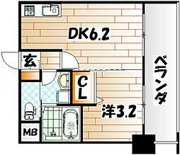 No.71 オリエントトラストタワー[2階]の間取り
