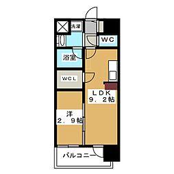 CINQ IWASE BLD A棟[3階]の間取り