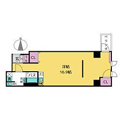 KAKOビル[6階]の間取り
