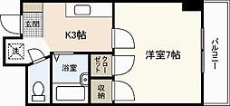 第8寺前ビル[2階]の間取り