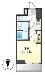 プレサンス桜通ザ・タイムズ[3階]の間取り