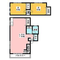 大井ビル[2階]の間取り