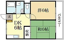 ハイツ吉田[1階]の間取り